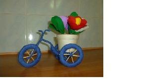 Сувенир велосипед своими руками