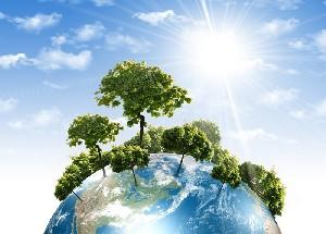 The environmental protection depends on each person